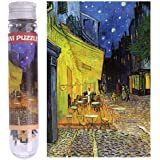 EA-STONE Thick Paper Jigsaw Puzzle, Coffee House Jigsaw Puzzle Kids Children Adult Educational Toy,150 Pieces