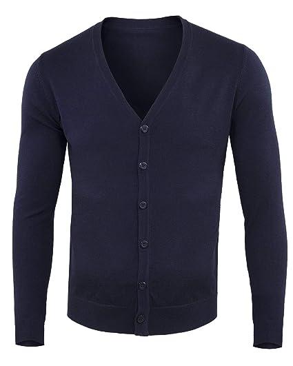 63b24f6b1c Girogama Cardigan Con Bottoni Slim - 6668M: Amazon.fr: Vêtements et ...