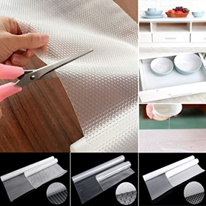 Enjoyable Finlon Cupboard Liner Non Slip Drawer Liners Non Adhesive Shelf Liner For Kitchen Cabinets Multipurpose Eva Transparent Mat Download Free Architecture Designs Scobabritishbridgeorg