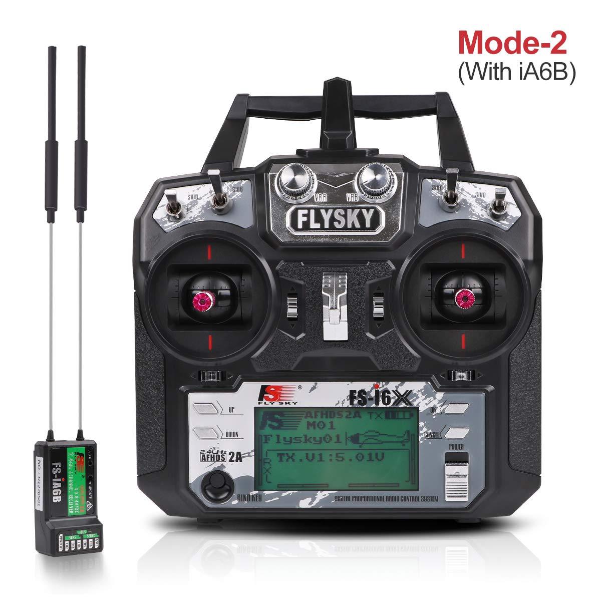 Transmisor Flysky (10CH, 2.4GHz, AFHDS 2A)