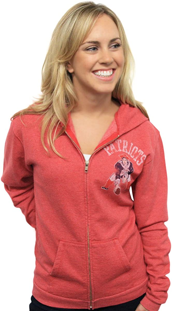NFL New England Patriots Vintage Hooded Sweatshirt Women's