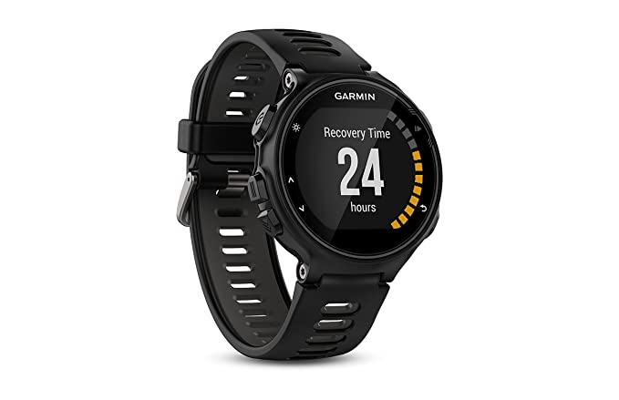 Garmin Forerunner 735XT, Multisport GPS Running Watch with Heart Rate, Black/Gray Bundle with Garmin HRM-Tri Heart Rate Monitor