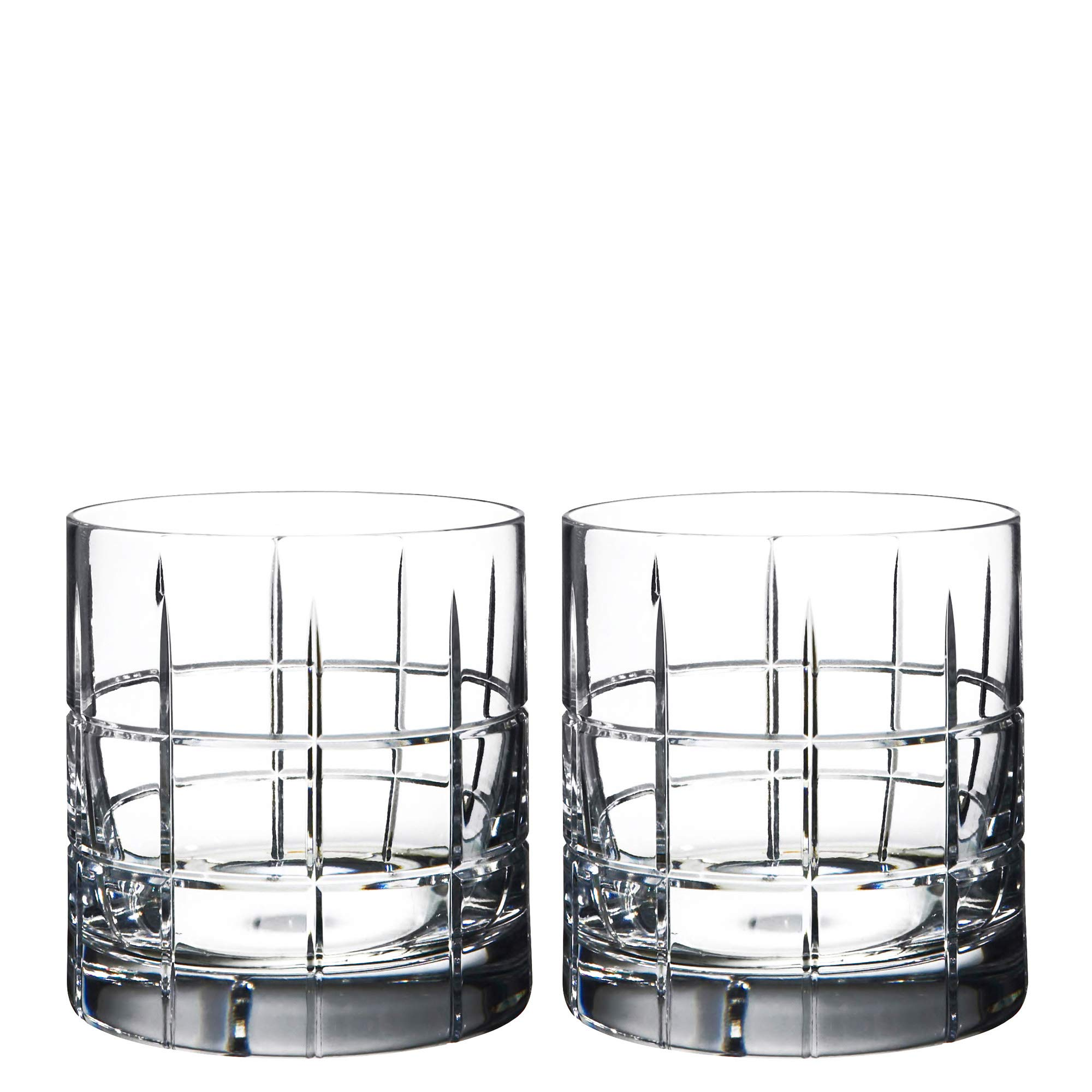 Orrefors Street Double Old Fashioned Glass Pair - 6540104 by Orrefors