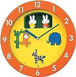miffyミッフィー(リズム時計) 毎正時、メロディと共にミッフィーが回転する《からくり時計》 ミッフィーM748A 4MH748MA14