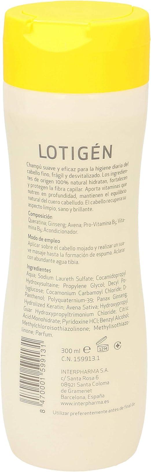 Lotigen Productos Para El Cuidado Del Cabello 1 Unidad 300 Ml: Amazon.es: Belleza