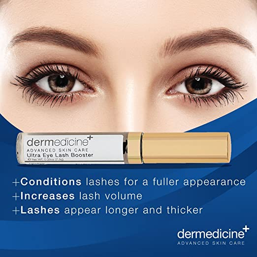 Amazon.com : Dermedicine Advanced Skincare - Ultra Eye Lash Booster : Beauty