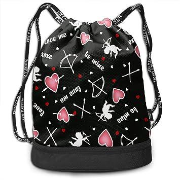 Girls   Boys Drawstring Sack Theft Proof Lightweight Beam Backpack 04443f8caae94