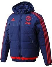 6fa522a2b 2015-2016 Man Utd Adidas Padded Jacket (Dark Blue)