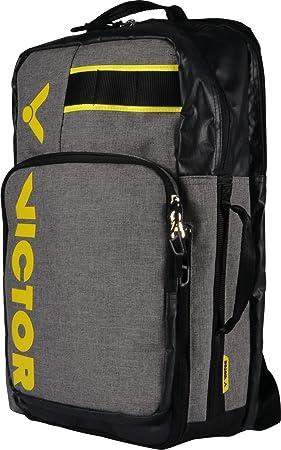Victor BR3010 Grey Mochila, Gris/Amarillo, One Size: Amazon.es: Deportes y aire libre