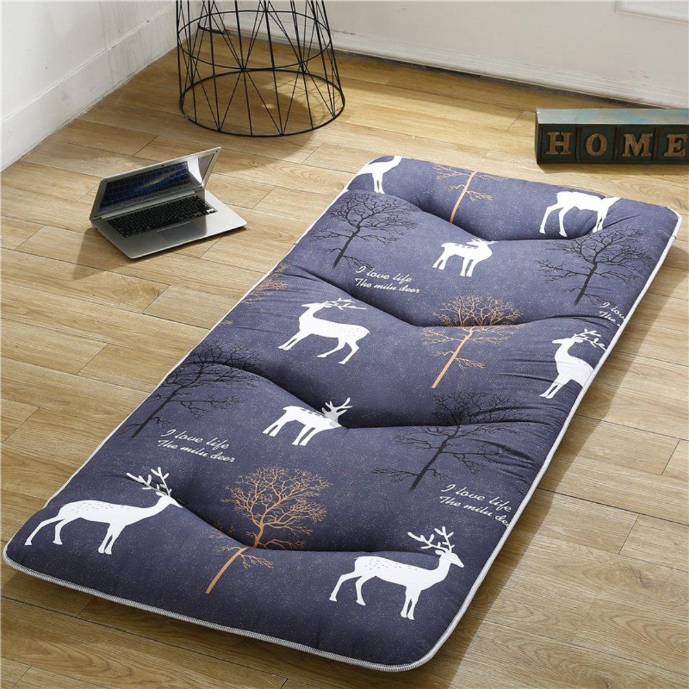D 100x200cm(39x79inch) Student Dormitory Tatami Mattress, Single 0.9m Four Seasons Universal Thickness Bedroom Cushion-a 180x200cm(71x79inch)