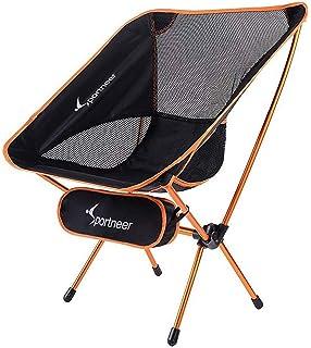 Canyon Cruise Moon Chair Silla de Camping Camping Taburete de Moon Chair XXL Silla Plegable