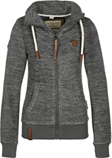 NAKETANO Women Zipped Fleece Jacket 1831-1001 Redefreiheit 1006 Dark ... f1267ff49a