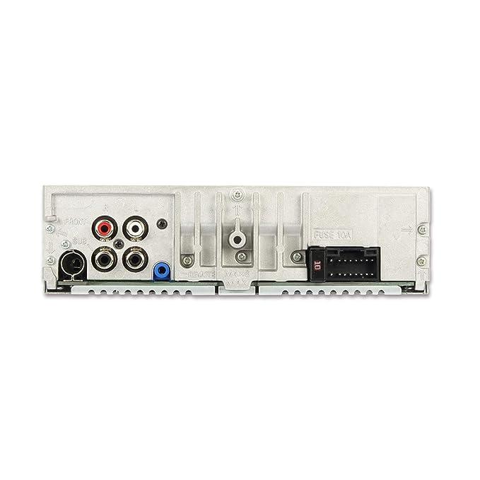 Noir /éclairage des Boutons commutable Rouge//Vert Alpine Autoradio Electronics CDE-201R CD 1DIN