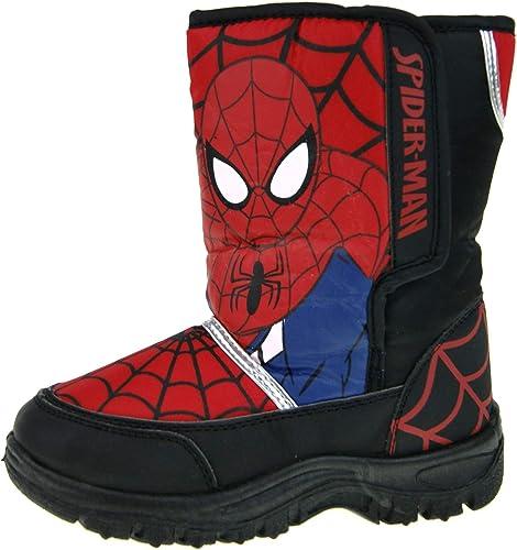Boys Spiderman Snow Boot UK 10: Amazon