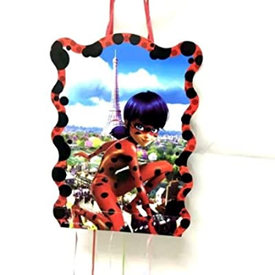 Miraculous Ladybug Girl Design Pinata Birthday Party: Toys & Games
