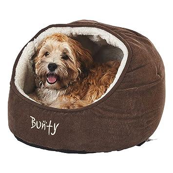 Bunty - Cama tipo cueva para gatos, cachorros y perros (mascotas, casa, cesta, forro polar, suave, cojín): Amazon.es: Productos para mascotas
