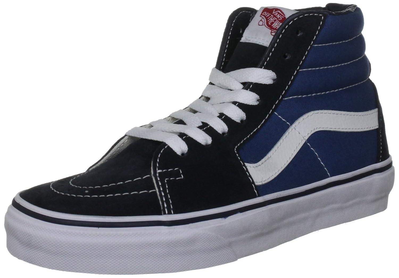 Vans Unisex Sk8-Hi Slim Women's Skate Shoe B00EIBXVEO 5 D(M) US Navy/White