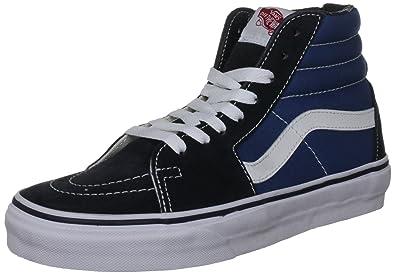 Vans  quot Sk8-Hi Sneakers (Navy) Men s Canvas Suede Skateboard High- f9a8162043de
