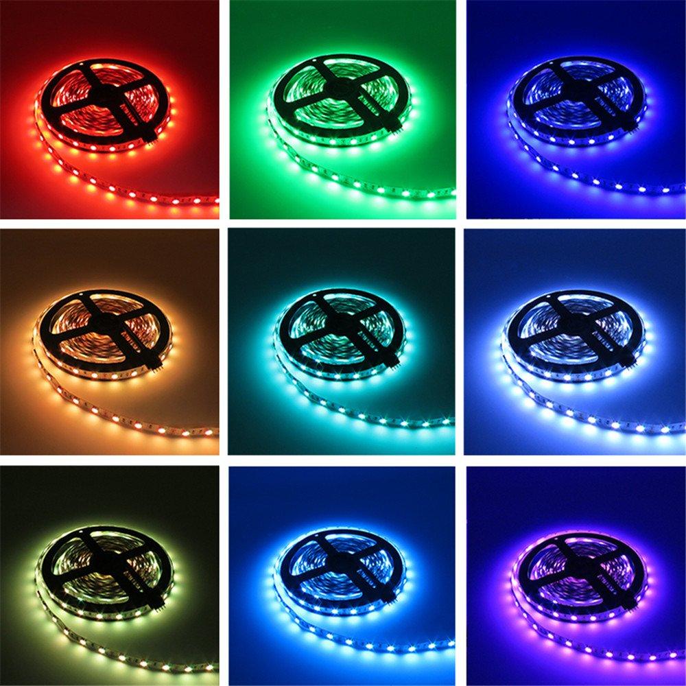 LightInTheBox 20M(4X5M) 5050 RGB 600 LEDs Strip Lights 44Key IR Remote Controller Kit 12V 10A Power Supply