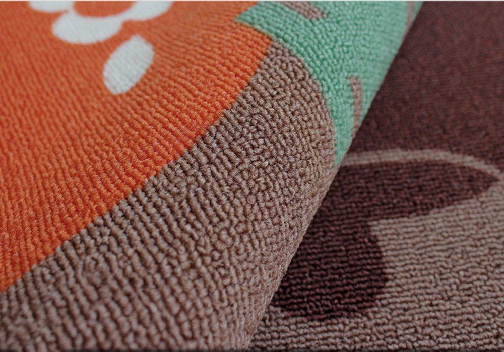 Carvapet 2 Piece Non-Slip Kitchen Mat Rubber Backing Doormat Runner Rug Set, Pots (19''x59''+19''x31'') by Carvapet (Image #4)