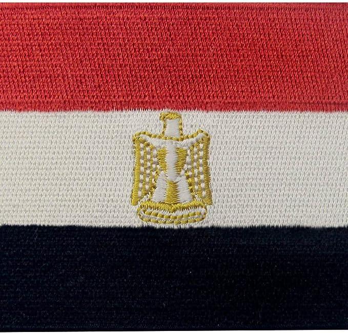 Bandera de Egipto Árabe egipcio Parche Bordado de Aplicación con ...
