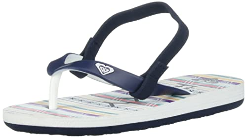 0be510fec10d28 Roxy Kids  TW Tahiti Flip Flop Toddler Sandal