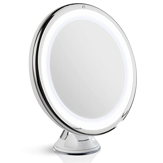 Fancii 10x Lighted Magnifying Makeup Mirror With Daylight
