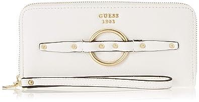 Guess - Dixie, Carteras Mujer, Blanco (White/Whi), 21x10x2 cm
