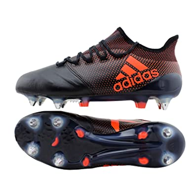 the latest 37f3d 7c121 adidas X 17.1 SG Leather Mens Football Boots - 8 UK, CBLACK Solred