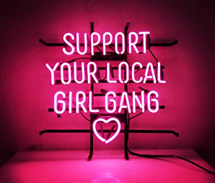 New Custom Neon Sign Pink Room Decor 'Support Your Local Bang ... on home ice cream parlor designs, home brewery designs, home salon designs, home shop designs, home outdoor patio designs, home grill designs, home room designs, home bar designs,