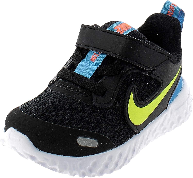 Nike Latest item Unisex-Child supreme Revolution 5 Toddler Velcro Running Shoe