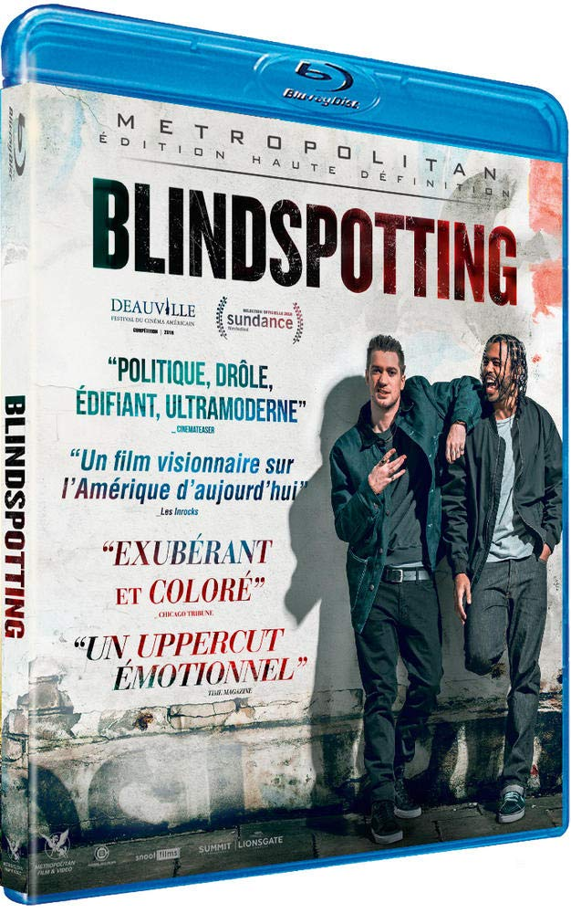 bluray du film Blindspotting