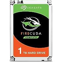 Seagate FireCuda - Disco Duro SATA de 1 TB para Videojuegos (6 GB/s, 8 GB), Embalaje abrefácil (ST1000LXZ15), 1 TB