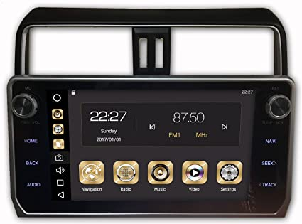 Amazon com: T-One Android 8 0 Car Stereo, PX5,Octa-Core,RAM 4GB,ROM
