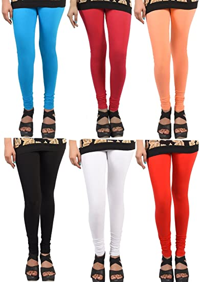 Buy Wekay Lifestyle Women S Cotton Sale For 6 Piece Leggings Size Xx Large At Amazon In