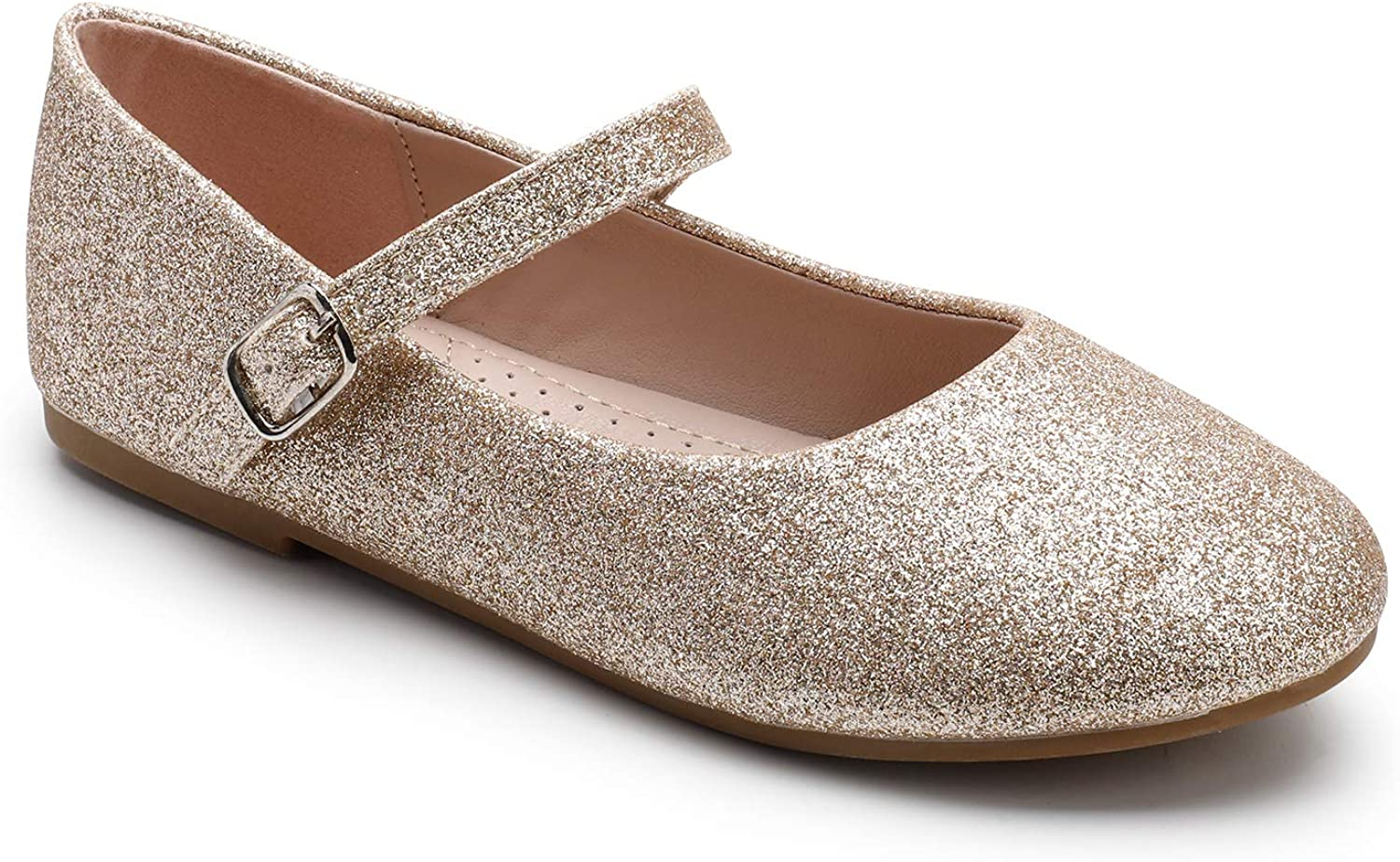 Trary Girls Flats Mary Jane Slip-on Shoes Toddler/Little Girls/Big Girls  Clothing, Shoes & Jewelry Girls
