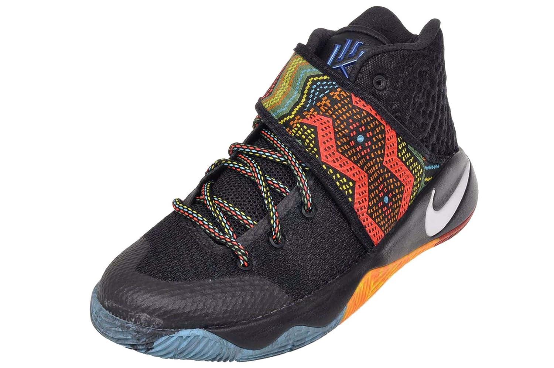 Nike Kyrie 2 GS (BHM) Black Multi-Color-Multi-Color 7Y  Amazon.co.uk  Shoes    Bags a42626879f