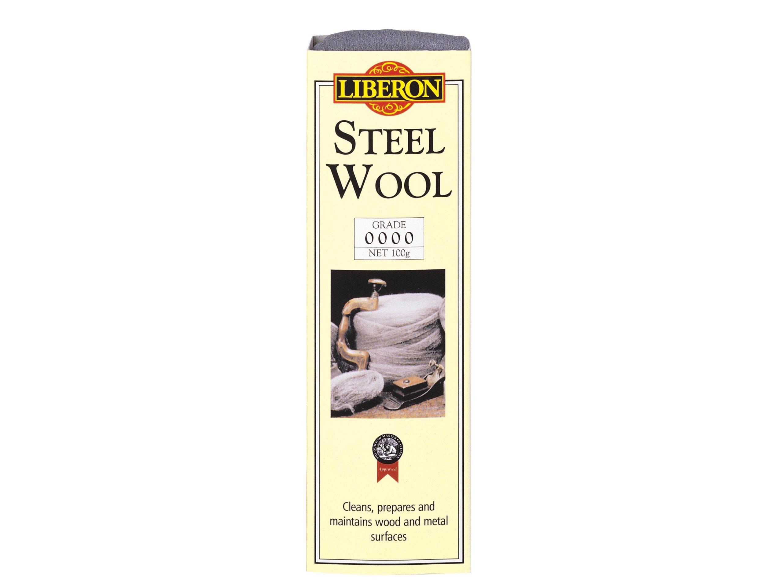 Liberon LIBSW0000G 100g Grade Steel Wool by Liberon