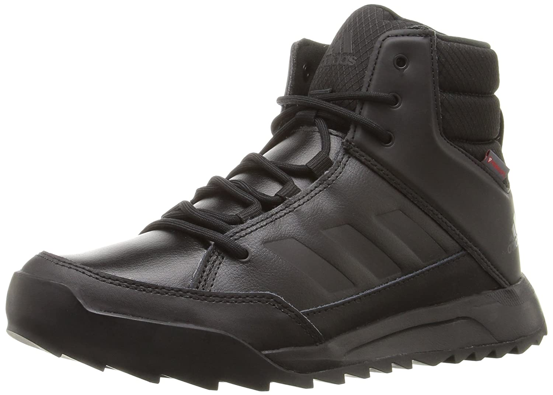 adidas outdoor Women's CW Choleah Sneaker Leather Snow Boot B018WSVA28 7.5 B(M) US Black/Black/Granite
