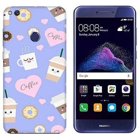 Funda P9 Lite 2017 Carcasa Huawei P9 Lite 2017 Comida Cibo ...