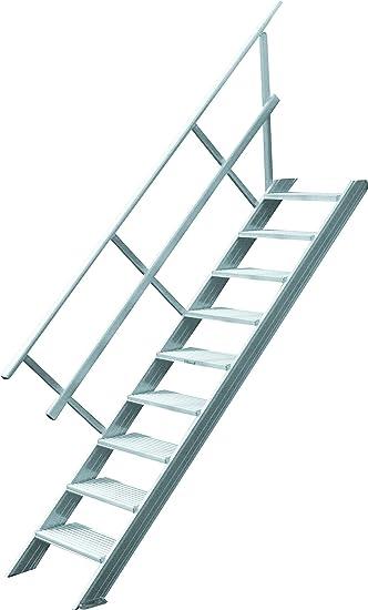 Hymer Treppe Stationar Ohne Podest Treppenneigung 45 Grad Stufen B