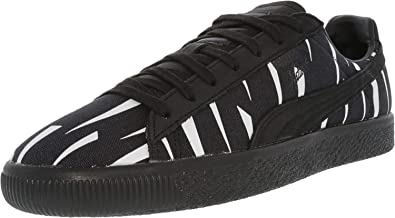 low priced 4c9b1 195ef Amazon.com   PUMA Unisex x Naturel Clyde Black Rain Sneaker ...