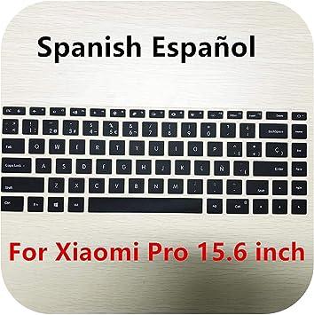 Funda de teclado de silicona ruso/español para Xiaomi Mi ...