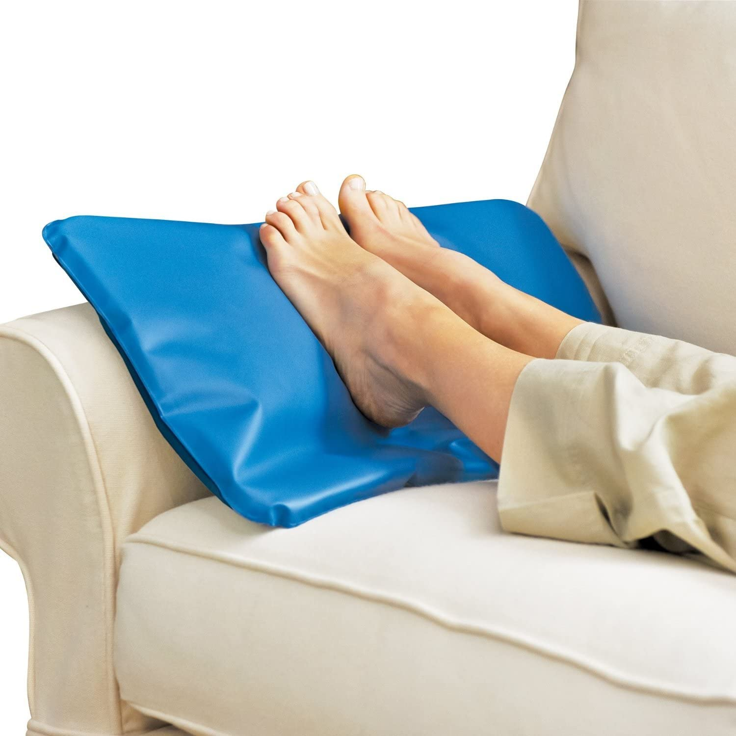 Chillow Cooling Pillow Relaxing Restful Sleep Natural Cool Gel Cosy Water D9M4