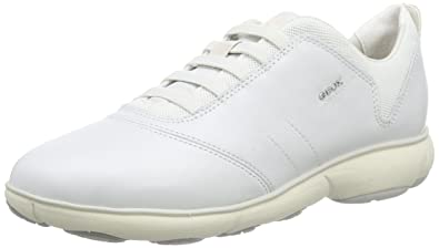 0716d166c0 Geox Women D Nebula C Low-Top Sneakers,Off-White (Off WHITEC1002