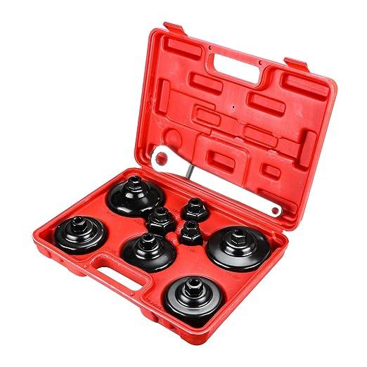 21 PCS Universal Disc Brake Caliper Piston Compressor Wind Back Repair Tool Kit: Amazon.es: Coche y moto