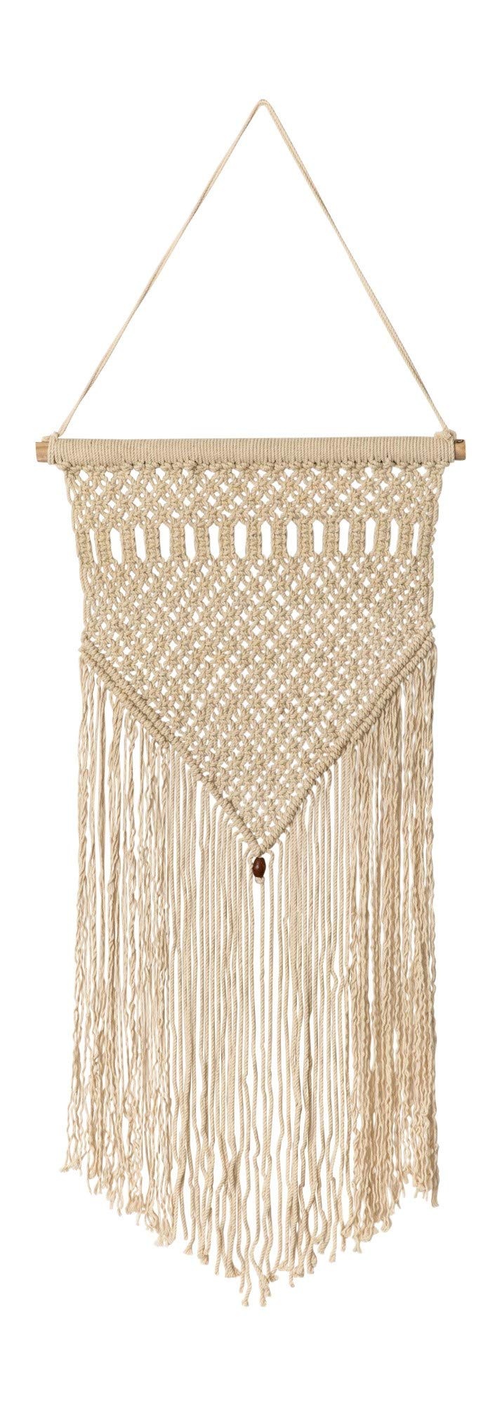 IWR Home Macrame Wall Hanging Tapestry Bohemian Wall Decor