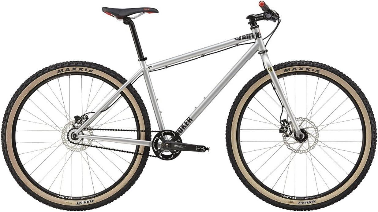 Charge Cooker SS - Bicicletas single-speed - Plateado Tamaño del cuadro 44,6 cm 2015: Amazon.es: Deportes y aire libre