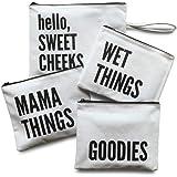 Diaper Bag Organizing Pouches   Set of 4 Including Diaper Clutch   Dry Wet Bag
