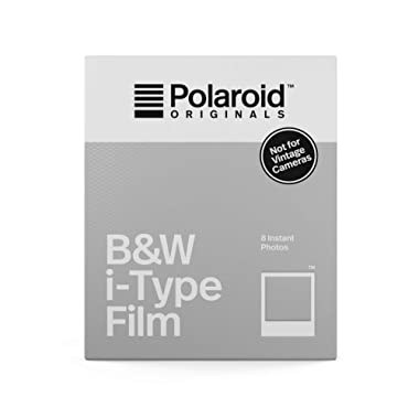 Polaroid Originals Instant Film Black & White Film for I-TYPE, White (4669)